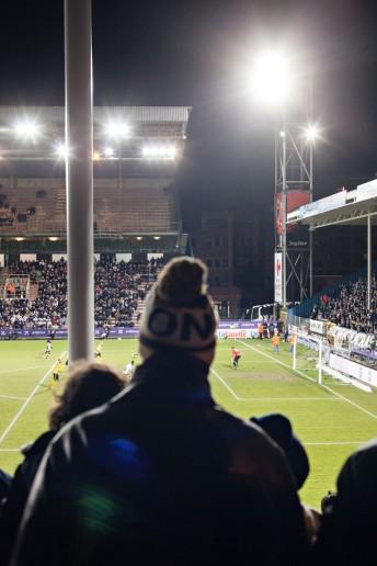 FußballFanFotos, Sporting de Charleroi – KSC Lokeren, Stade du Pays de Charleroi, Belgien