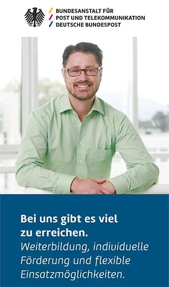 Bundesanstalt für Post Und Telekommunikation, Recruiting | 6grad51 design