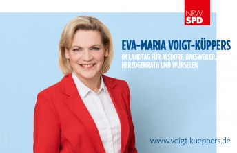 Eva-Maria Voigt Küppers, Großflächenplakat