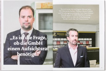 IN DER PRATSCH 20, Interview