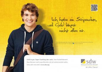Stiftung der Deutschen Wirtschaft, Kampagnenmotiv | CP Compartner