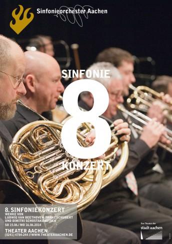 Sinfonieorchester Aachen, Plakat | DDT2w
