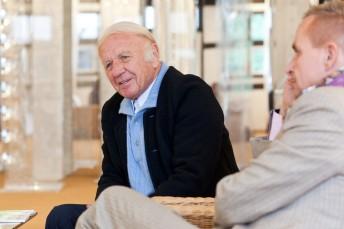Art Investor, Heinz Mack und Alexander Baumgarte
